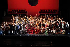Torchbearers -full cast  + choir + musicians in Cape Town