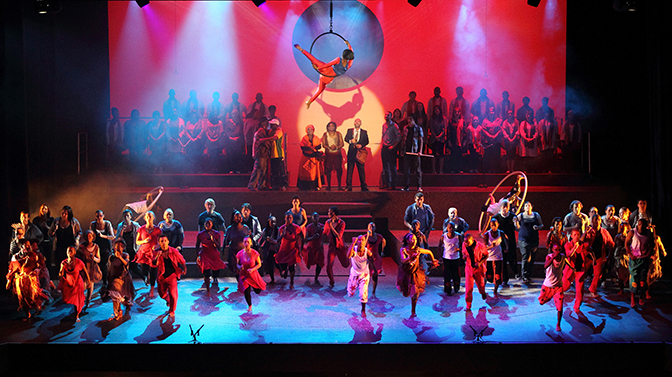 Grand finale of Cultural Olympiad production of Torchbearers
